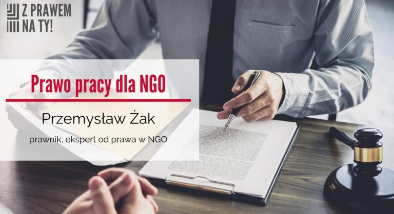 Banner prawo pracy w NGO