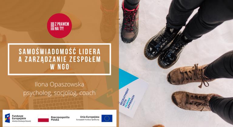 Ilona Opaszowska-zaproszenie na webinarium