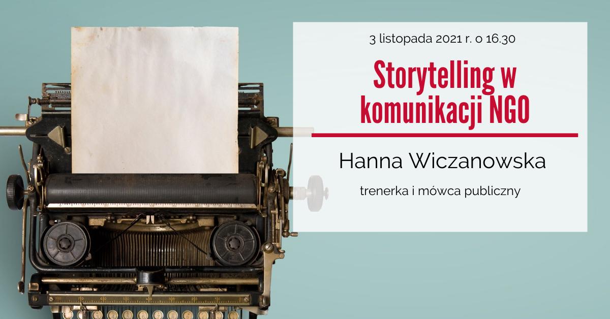 Storytelling w komunikacji NGO